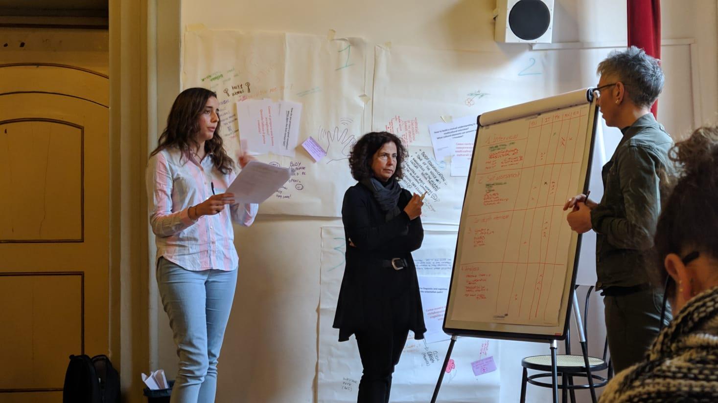 CURSO PARA FORMADORES. Actividad del proyecto ENSEMBLE en BOLONIA