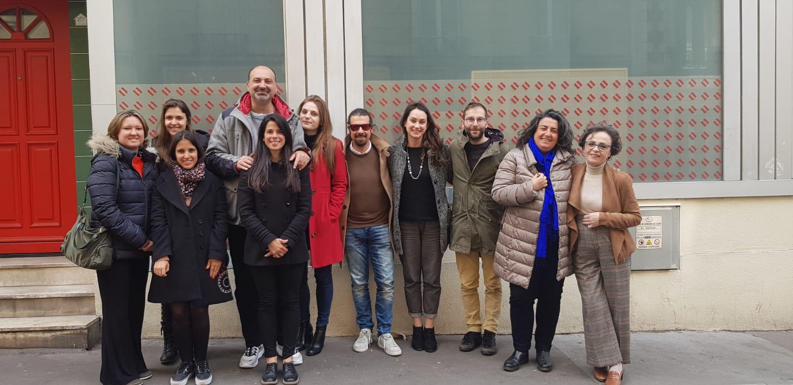 Internet Web Solutions ha viajado a París para la segunda reunión del proyecto CLICK CLEVER