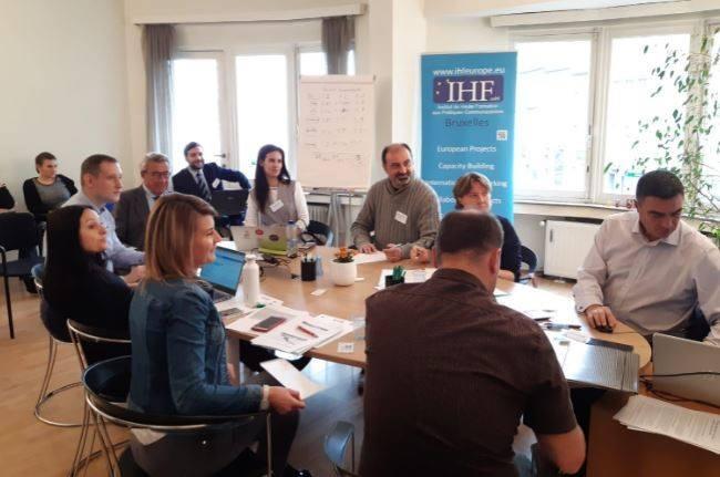 Kick-off meeting DEEP en Bruselas