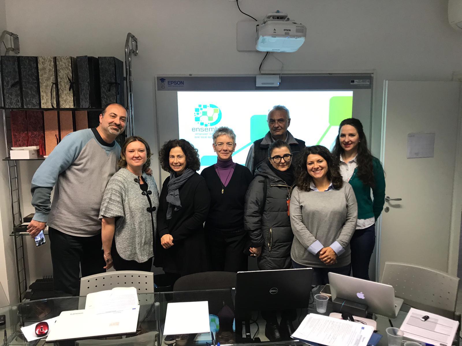 Internet Web Solutions viaja a Bolonia para la cuarta reunión de socios del proyecto ENSEMBLE